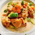 鶏肉とアボカドのシチュー(動画レシピ)/Chicken and Avocado stew.【staub】