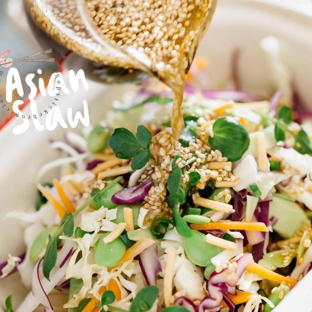 Asian Slaw – Easy & Quick Recipe