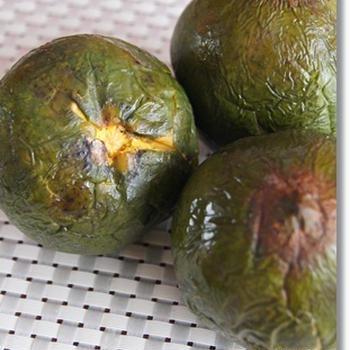 南米フルーツで和菓子作り