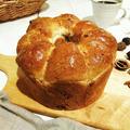 和くるみとライ麦のちぎりパン/シフォンケーキ型で焼いた食パン