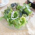ポリ袋レシピ♪美唄の乾燥野菜を使ったチョレギサラダ&一汁三菜まごわやさしい献立 by アップルミントさん