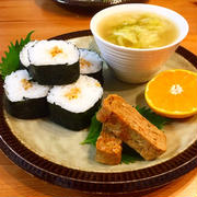 ★朝ごはん★納豆巻きワンプレート!