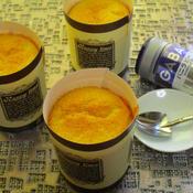 甘さ控えめ!米粉 こめ油のバニラカップシフォンケーキ♪