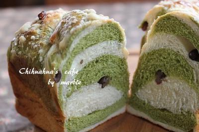 宇治金時ミルクパン