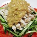 麺つゆとスパイスで作る簡単バンバンジー