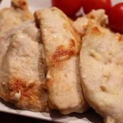 しっとり美味しい♪鶏むね肉のからしヨーグル炒め