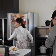 ある日の我が家の冷蔵庫