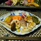 鶏胸肉とカラフル野菜のグリル焼き☆