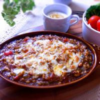 ロカボ! もち麦と豆腐の焼きカレーリゾット & 最近の晩ご飯は・・
