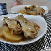 鶏手羽元と大根の花椒煮