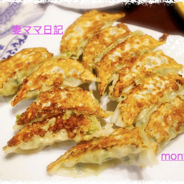 おうち「餃子」&「麻婆茄子」
