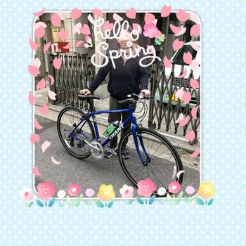 自転車のプレゼント