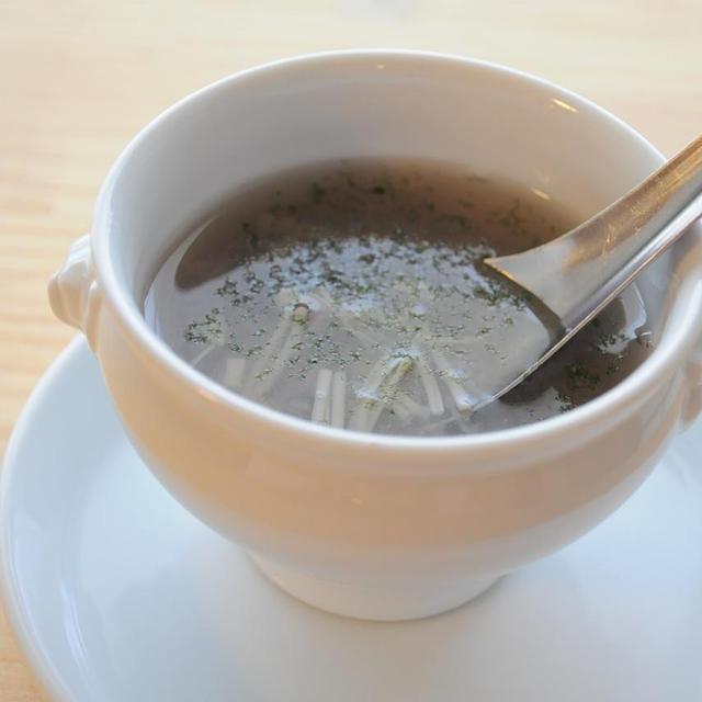花粉症に☆蓮根とえのきのとろりんスープ & コンパニオン
