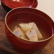 里芋の七味汁
