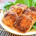 甘辛沁み沁み!満腹&満足の美味おからソースメンチカツ(糖質9.7g) by ねこやましゅんさん