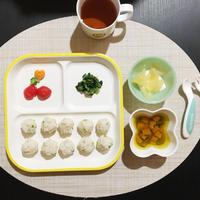 【離乳食完了期】鶏そぼろとグリーンピースのまぜご飯
