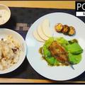 鶏手羽元の炊き込みピラフ・真イワシの香草パン粉焼 by PONTANさん