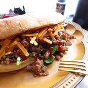 ルーズミートサンドイッチ