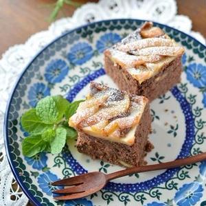 いつものケーキにひと工夫♪ナッツ入りがおいしいチョコレートケーキ