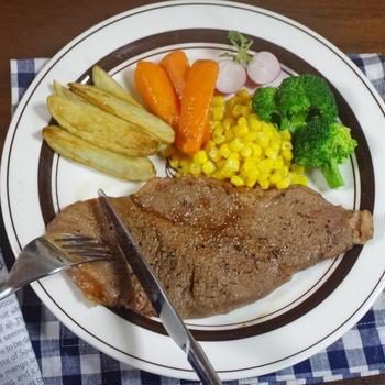輸入牛肉サーロインステーキが和牛のような やわらかで旨くなる作り方