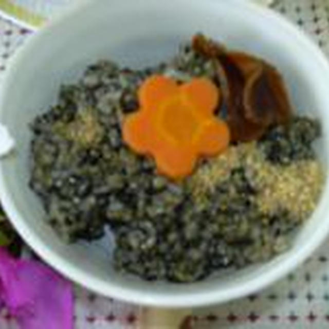 胡麻入り玄米ご飯