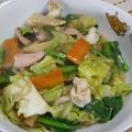 ☆残り野菜のあんかけ焼きそば☆ by Amaneさん