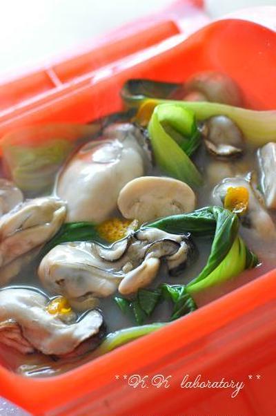 牡蠣を使って☆スチームケース&スチームバッグで作り比べ!