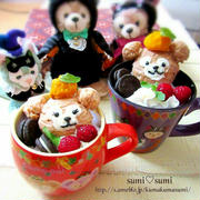 【ハロウィン祭】ダッフィー&シェリーメイのチョコクランチ♡