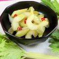 漬けるだけで美味しい!日持ちするセルリー(セロリ)の甘酢漬け by 銀木さん