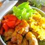 男子が喜ぶガッツリ系♡野菜も摂れちゃう♡『カフェ風♡鶏照り丼』《簡単*節約》