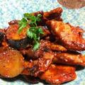 豚ヒレ肉とズッキーニの塩麹トマトにこみ