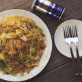 フライパン不要混ぜるだけメニュー!サバ味噌とキャベツと長ネギのスパゲッティ♪