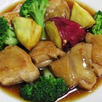 鶏もも肉の中華風煮込み<シナモン風味>