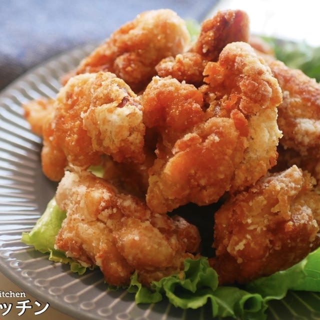 【漬け込みなし!】めっちゃ簡単なのに衣はザックザクで激ウマ『超ザクザク!鶏の唐揚げ』の作り方