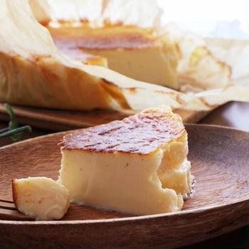 塩バニラバスクチーズケーキレシピ