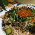 お正月の余り物で簡単ちらし寿司