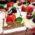【レシピ】クリスマス★サンタ★イベント★HM★子供喜ぶ【チョコムースケーキ】 by ☆s4☆さん