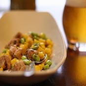 鶏肉と枝豆のクミン風味