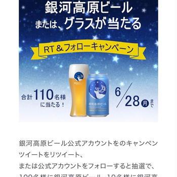 【当選】銀河高原ビール『銀河高原ビール2缶セット』