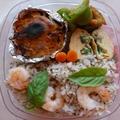 エビのバジルチャーハン洋食弁当