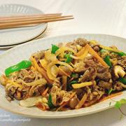 【ほぼ10分】3ステップで簡単♡きのこ&野菜たっぷりプルコギ