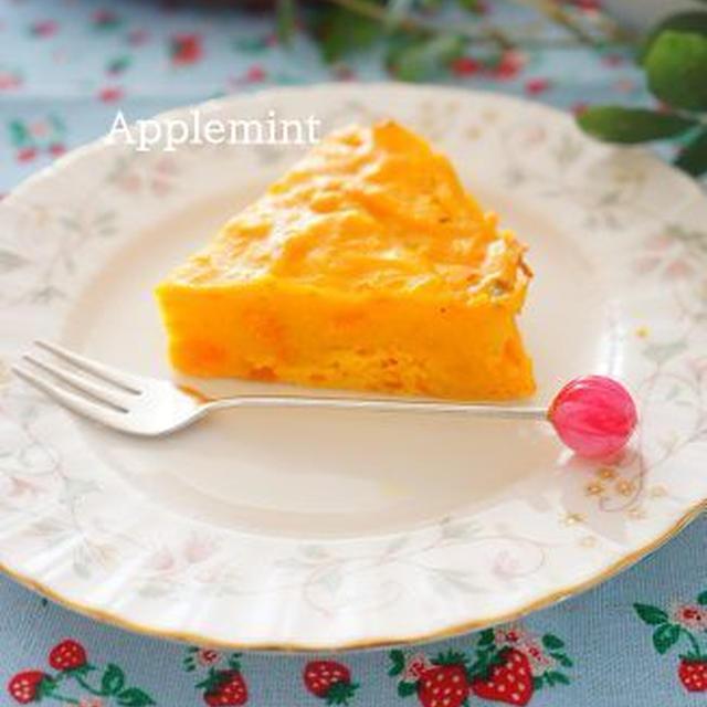 ◆卵&小麦粉アレルギー対応◆水切りヨーグルトでかぼちゃのケーキ試作