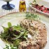 フライパンでカラフルペパー豚ヒレ肉のロースト風&舞茸豆乳ホワイトソース