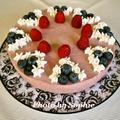 ラズベリー・ムースケーキのレシピ