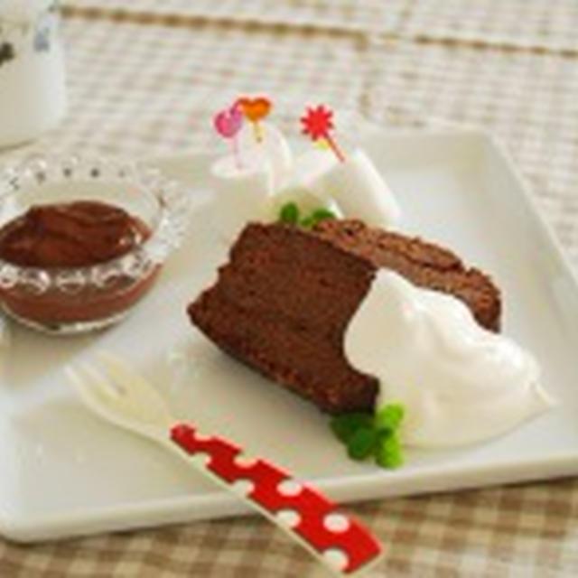 お豆腐生チョコフォンデュ バレンタインもヘルシーに♪