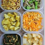 今週の常備菜☆野菜高騰なのでチープな野菜で秋味!?とBBQ