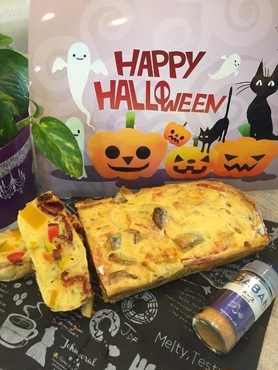かぼちゃとスパイス利かせて気分はハロウィン使用のケークサレ!!