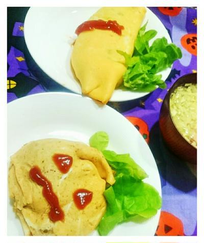 【スパイス大使♥シナモン:かぼちゃのオムレツ】