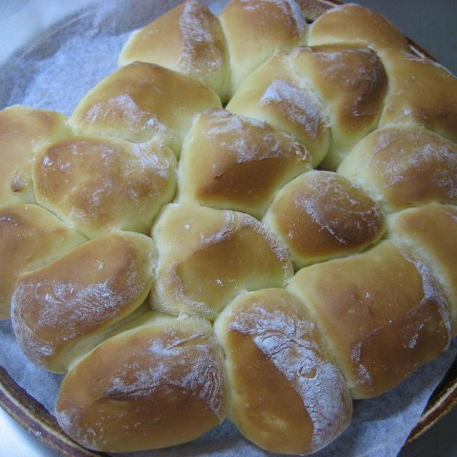 久しぶりにちぎりパン焼きました。~☆