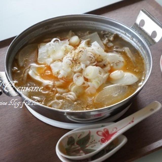 ☆たっぷりキノコのゴマラー油豆腐鍋☆